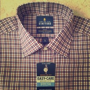 Never worn Stafford Long Sleeve button up.